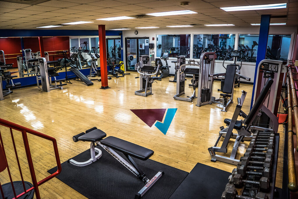 specialized exercise room